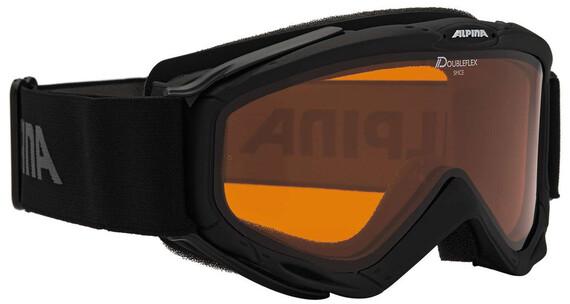 Alpina Spice Doubleflex S2 goggles zwart